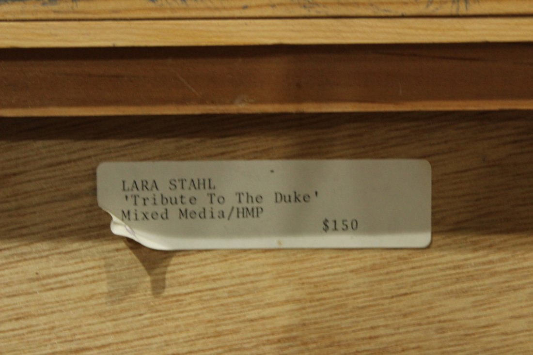 Lara Stahl 'Tribute to the duke' Mixed Media - 4