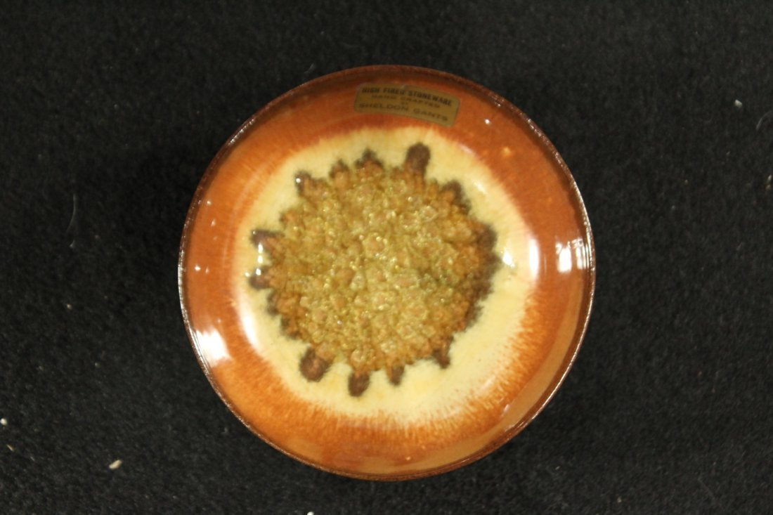 SHELDON GANTS hand crafted high fired stoneware bowl - 2