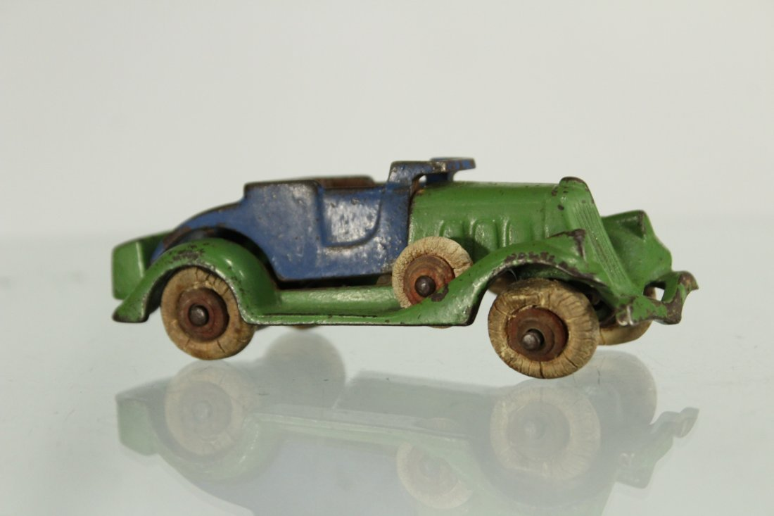 Antique CAST IRON TOY CAR