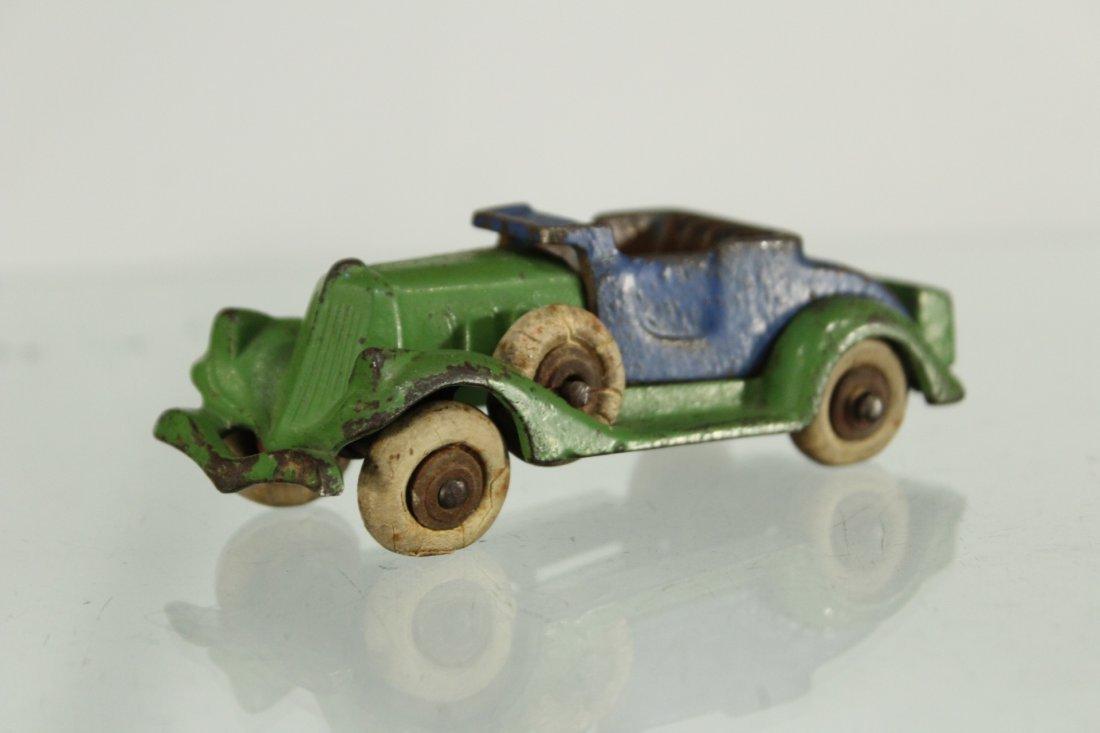 Antique CAST IRON TOY CAR - 2