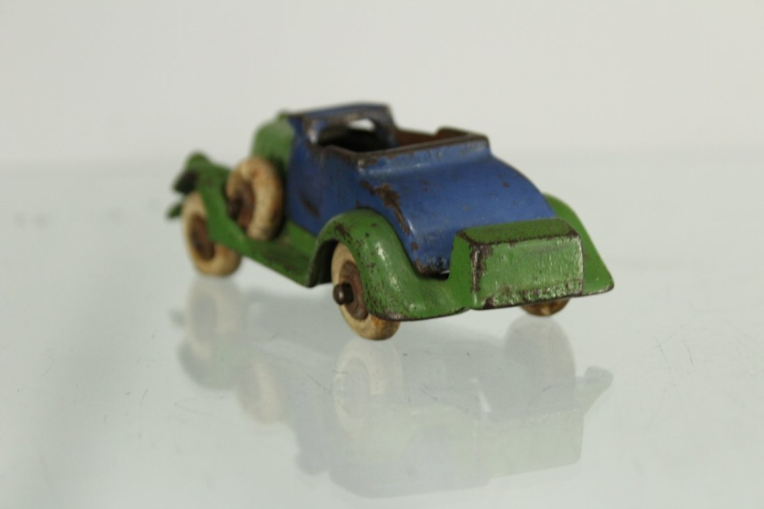 Antique CAST IRON TOY CAR - 3