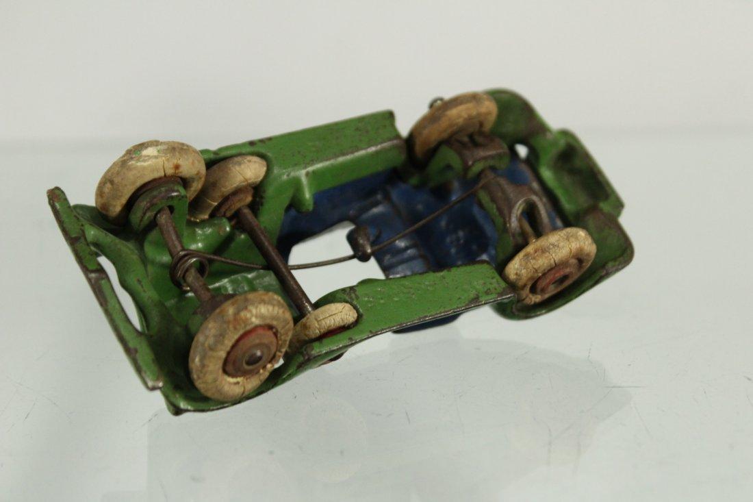 Antique CAST IRON TOY CAR - 4