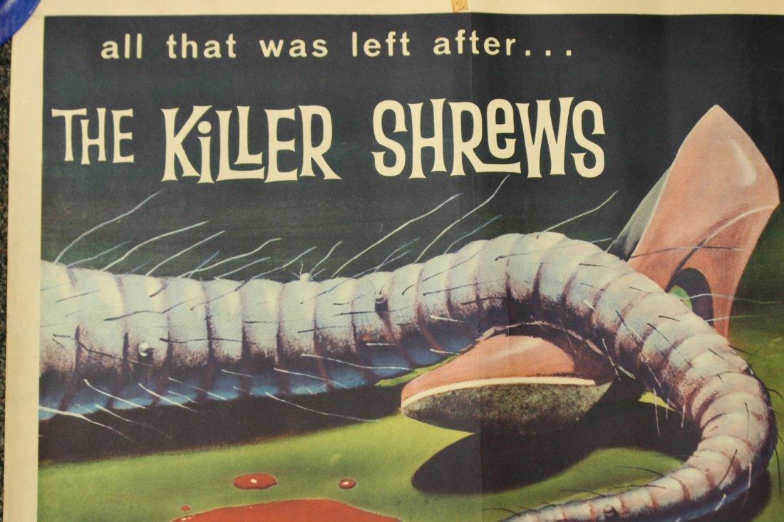 1959 The Killer Shrews vintage movie poster - 2