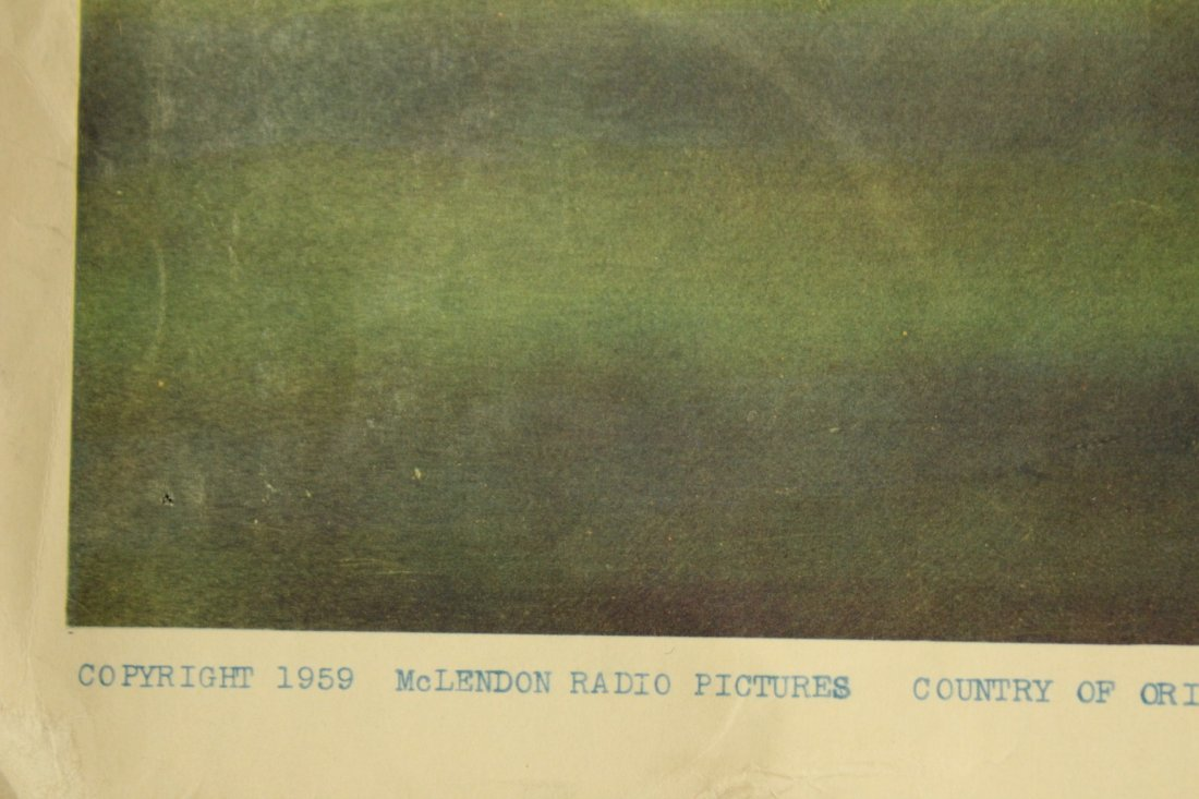 1959 The Killer Shrews vintage movie poster - 4