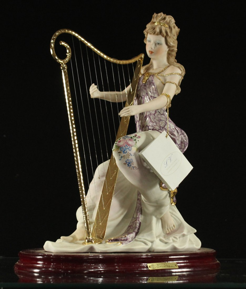 Vittorio Sabadin Porcelain Harp player