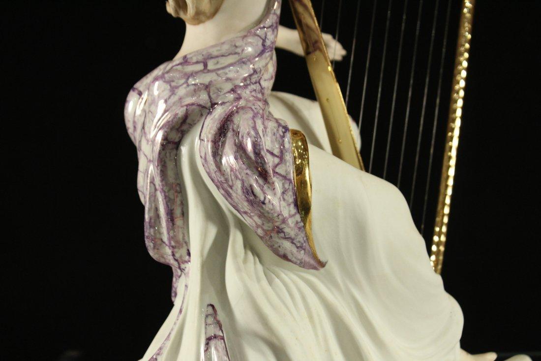 Vittorio Sabadin Porcelain Harp player - 7
