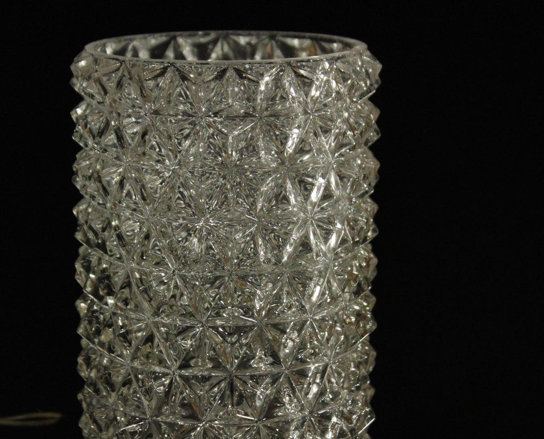 Mid-century Modern Geometric glass wall sconces - 4