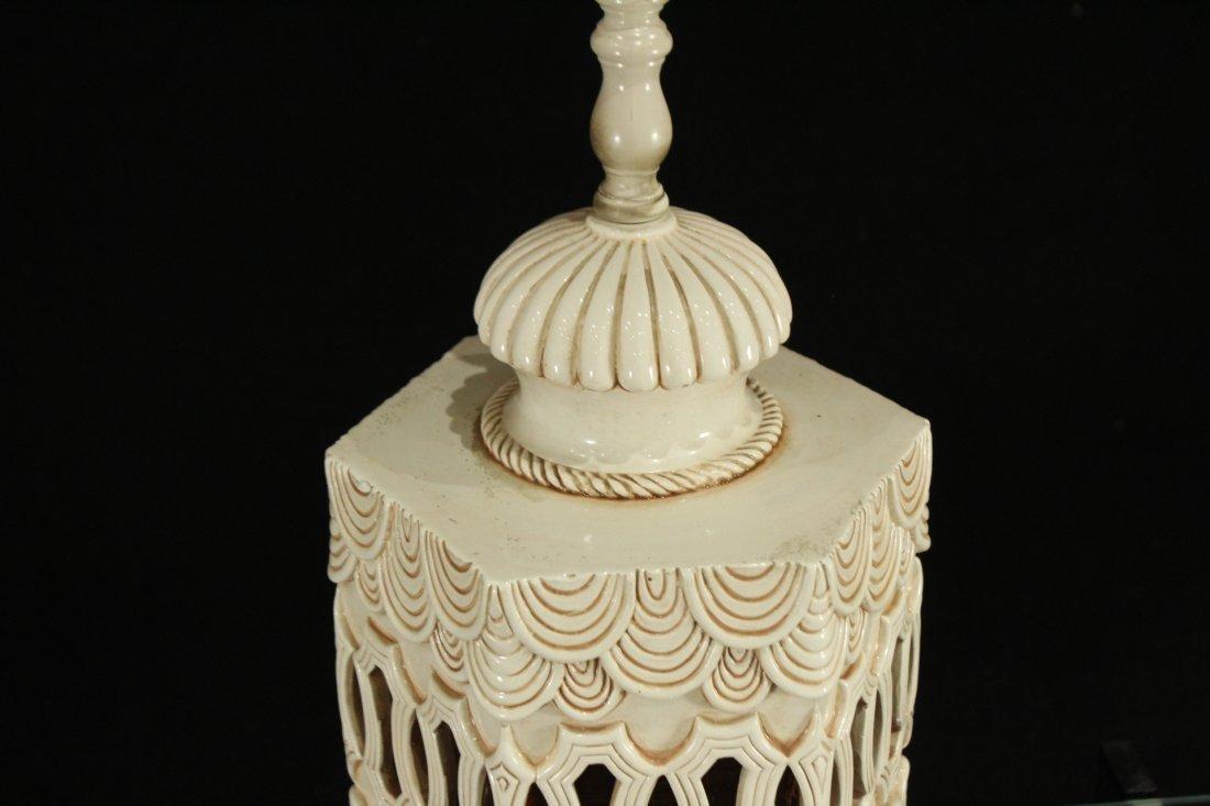 Mid-century Modern style double light lamp - 3