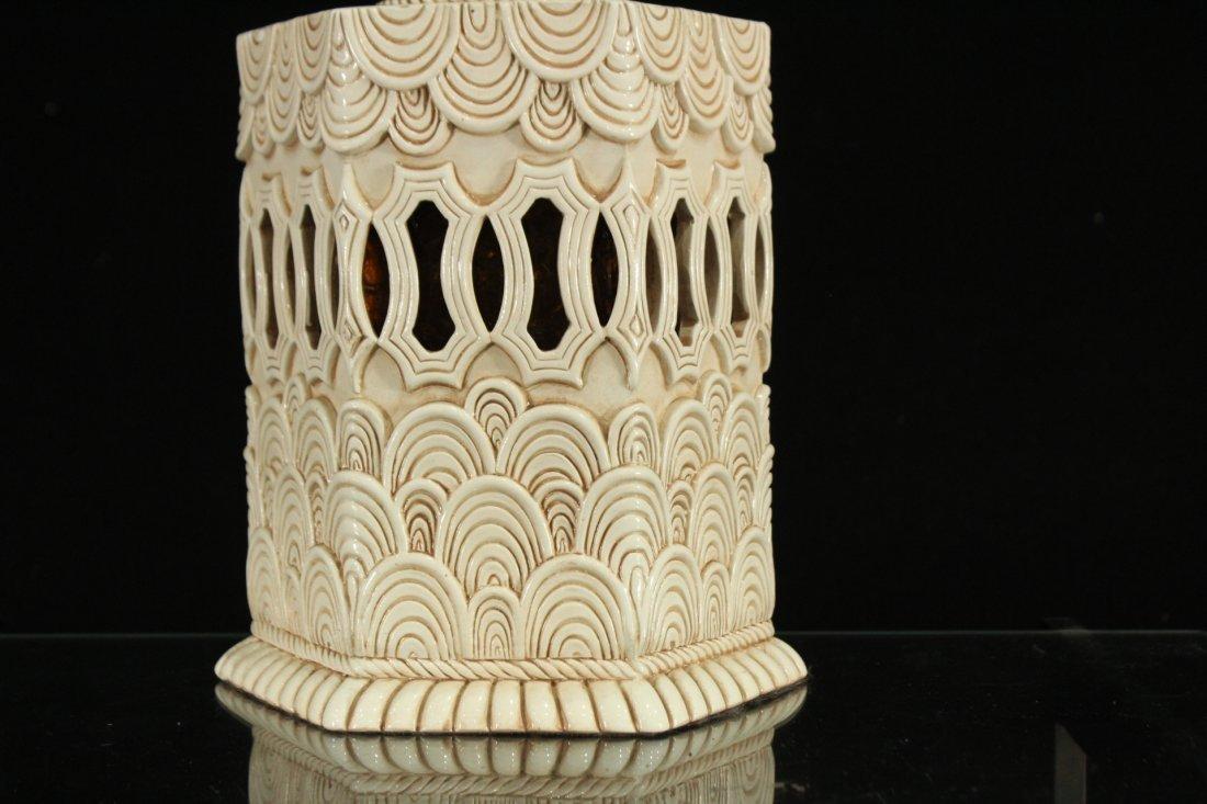 Mid-century Modern style double light lamp - 4