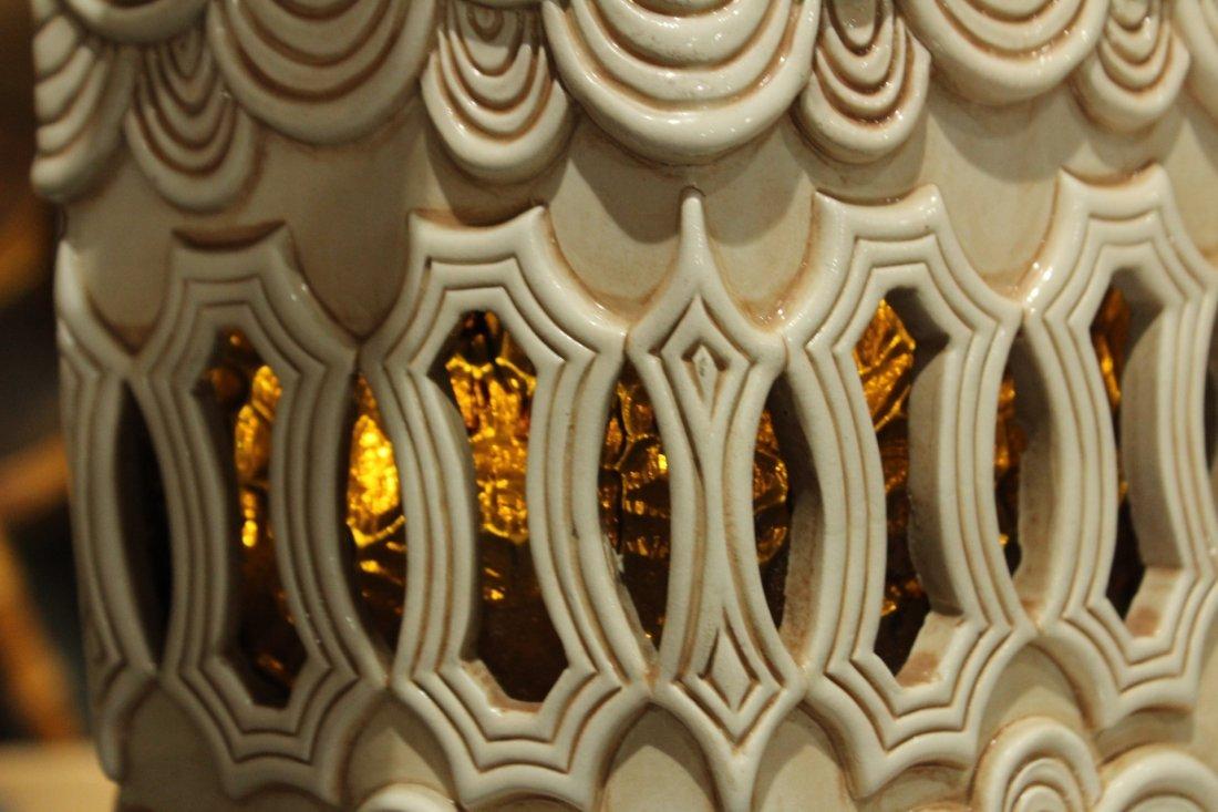 Mid-century Modern style double light lamp - 5