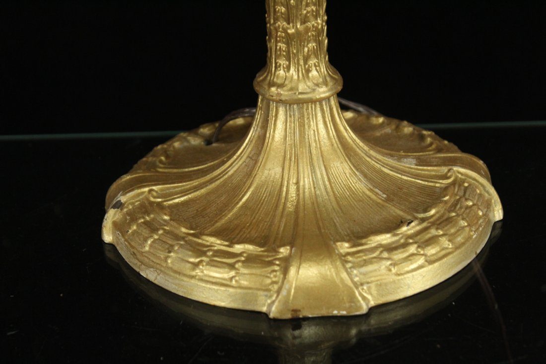 Signed Royal Brass Lamp - 2