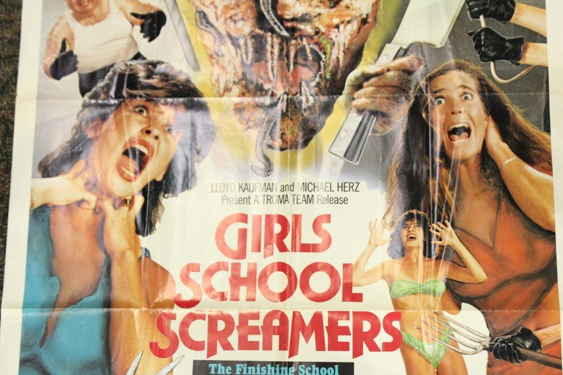 Girls School screamers Vintage Movie poster - 3