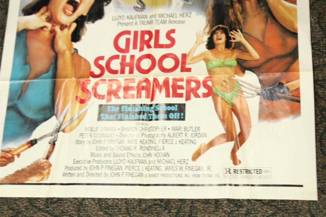 Girls School screamers Vintage Movie poster - 4