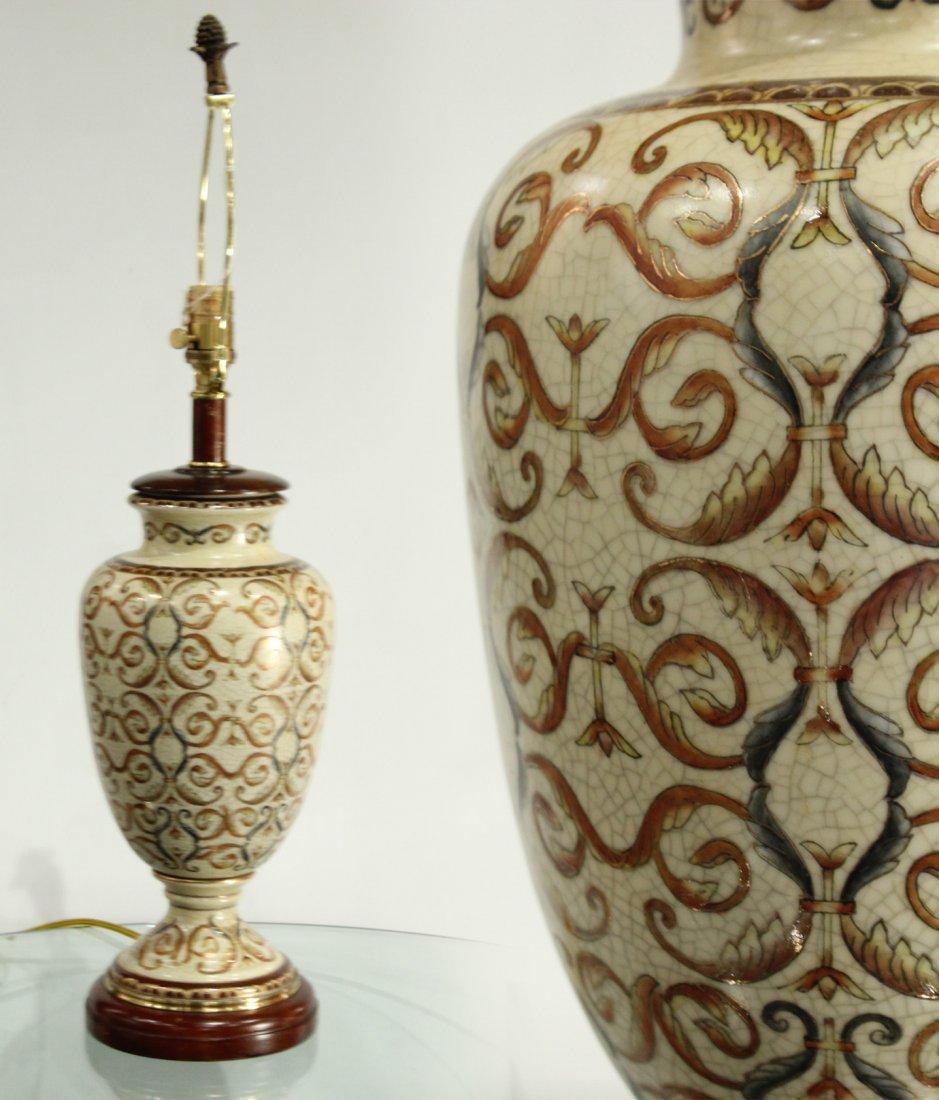 Vintage Pottery lamp