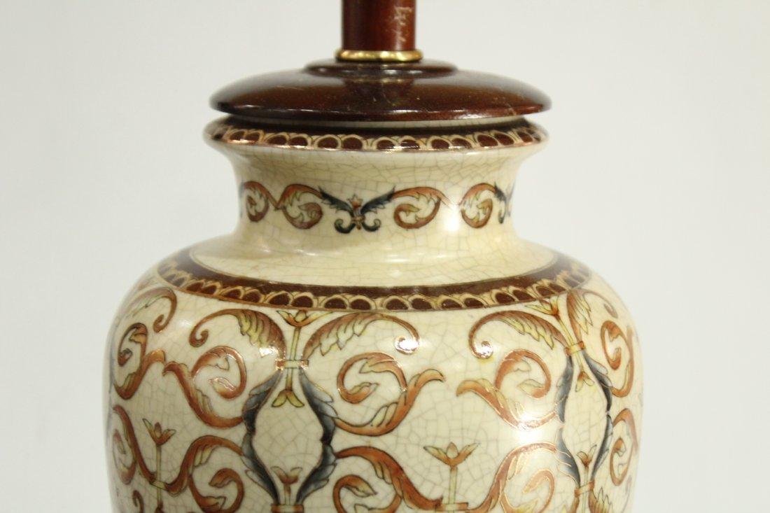 Vintage Pottery lamp - 3