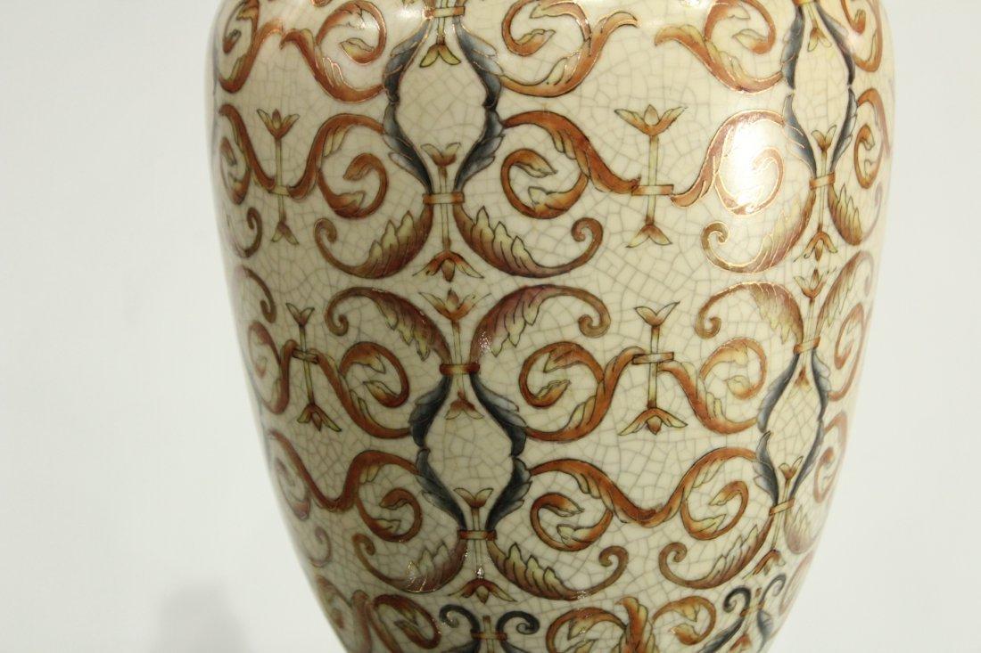 Vintage Pottery lamp - 4