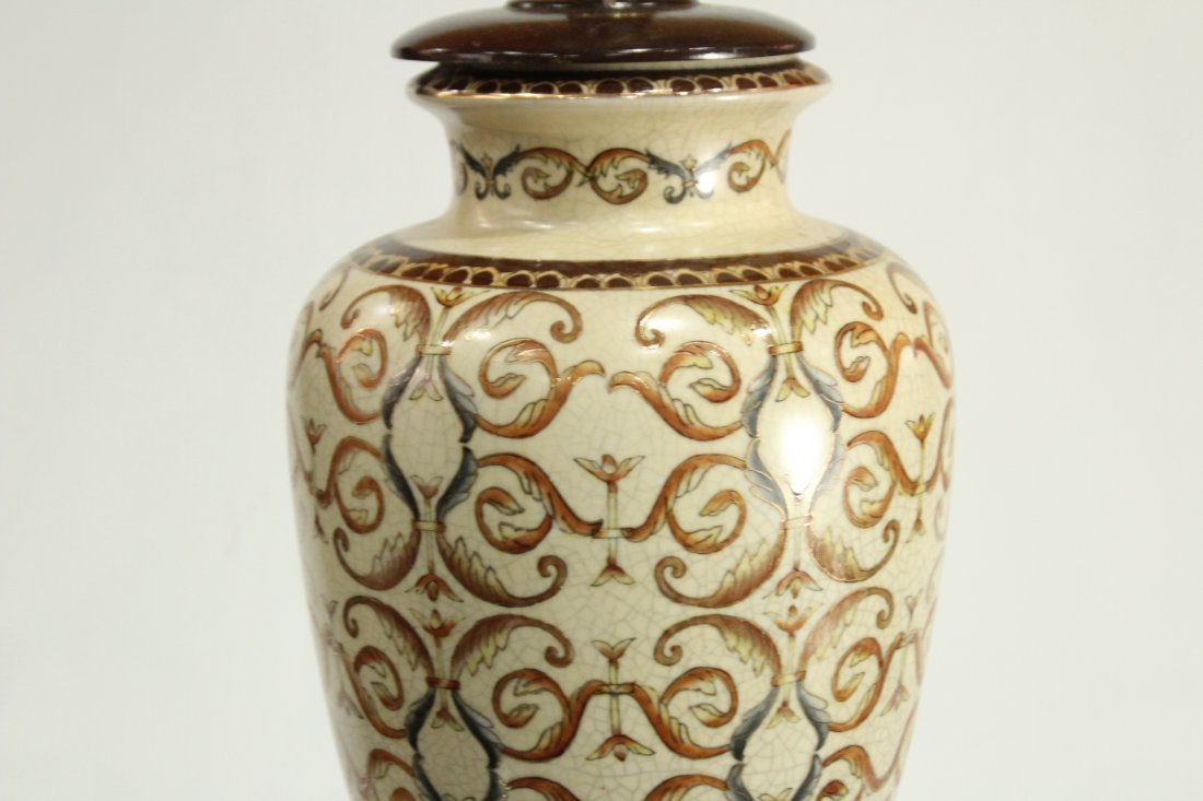 Vintage Pottery lamp - 6
