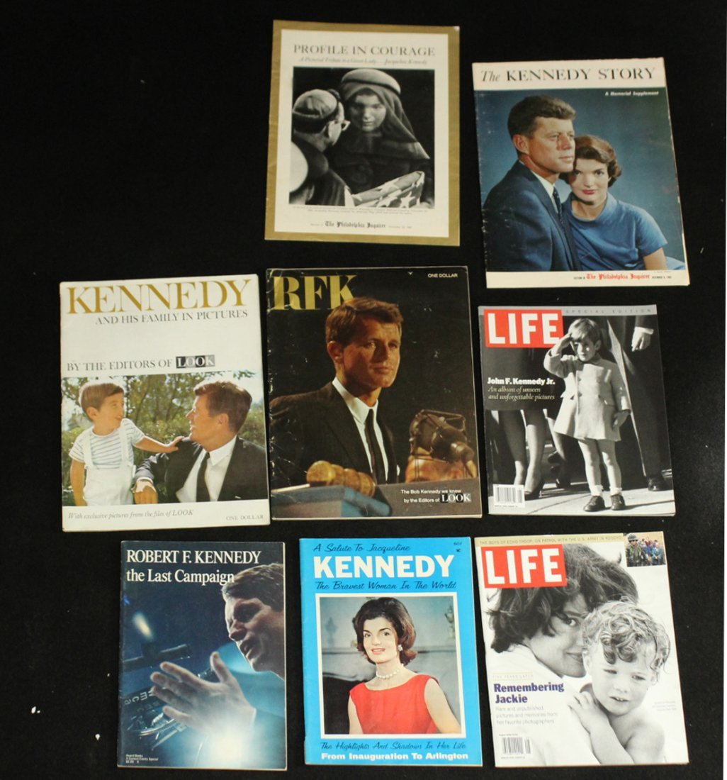 John F Kennedy Collection of Magazines