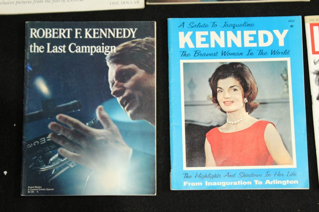John F Kennedy Collection of Magazines - 2