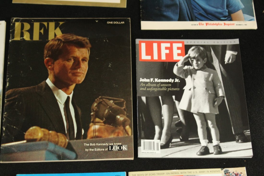 John F Kennedy Collection of Magazines - 4