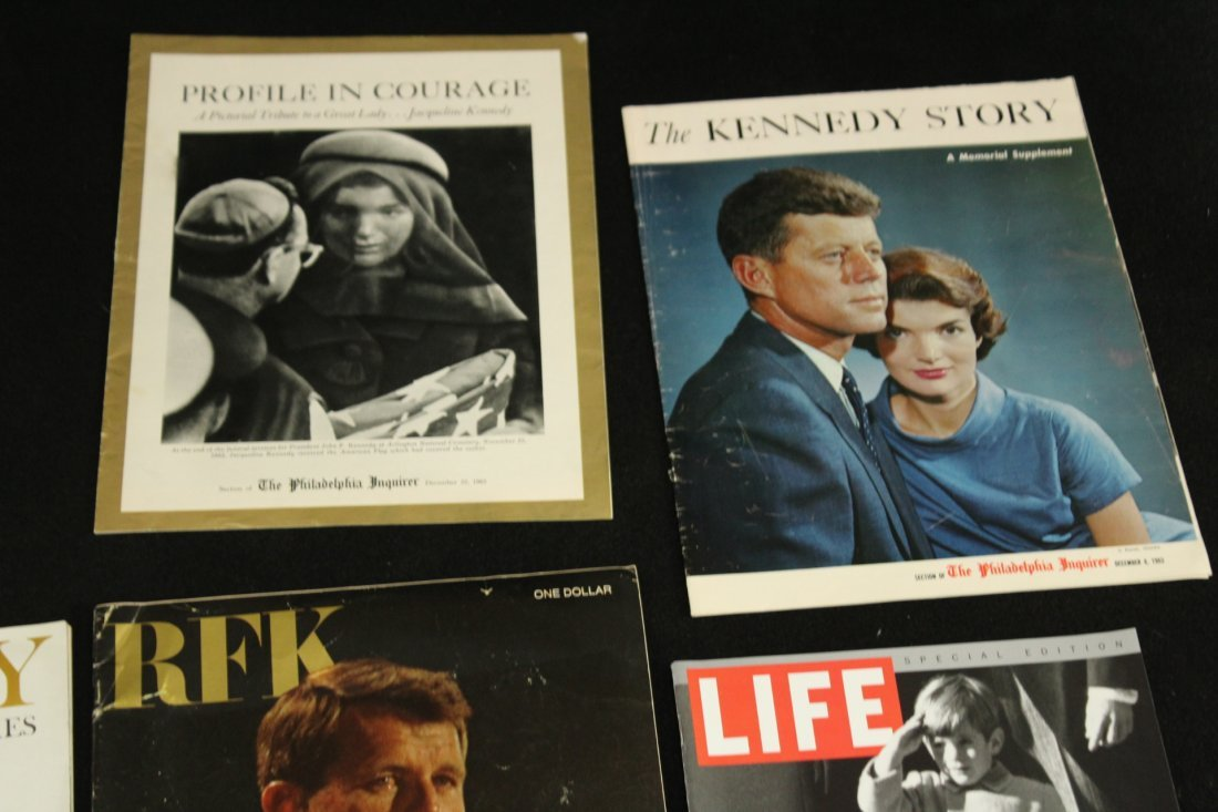 John F Kennedy Collection of Magazines - 6