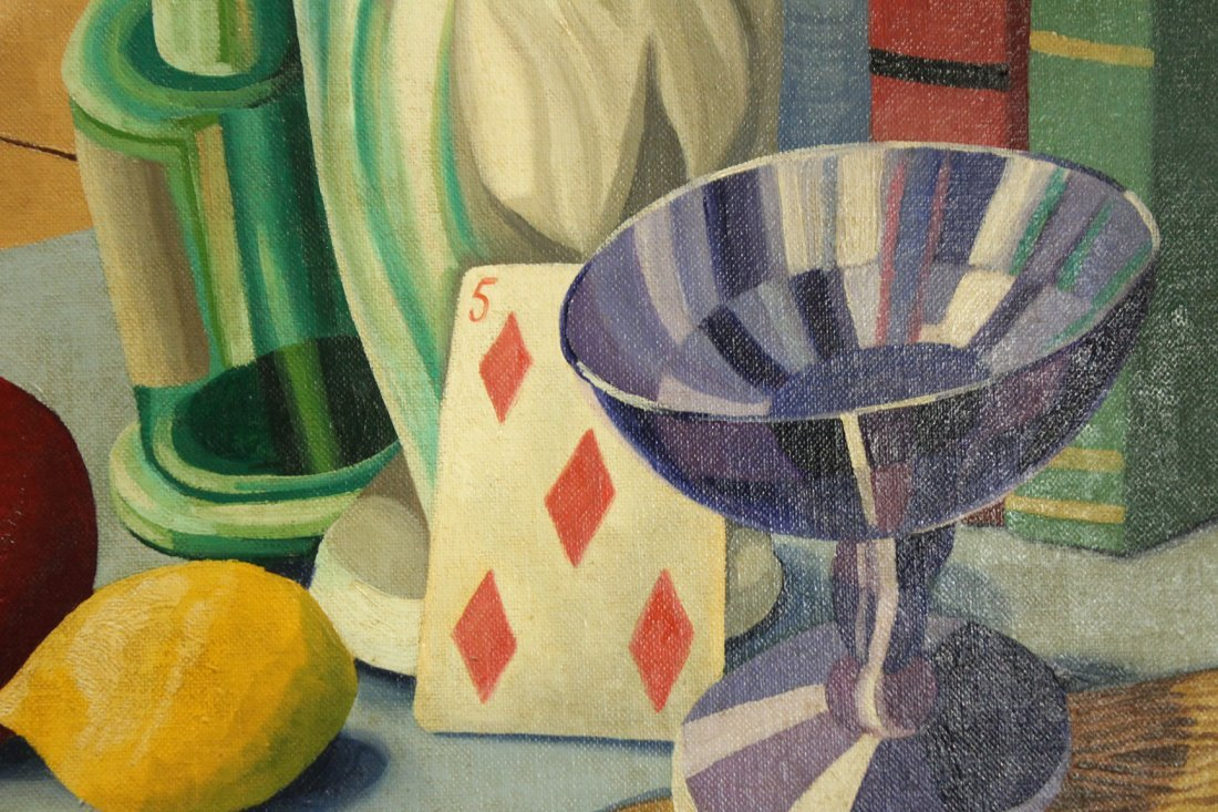 Henry McFee Oil on board still life painting - 3