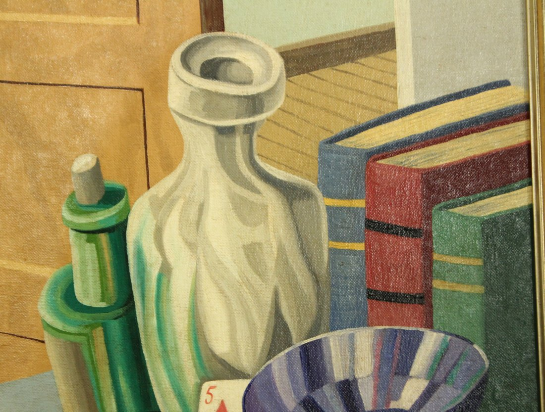Henry McFee Oil on board still life painting - 4