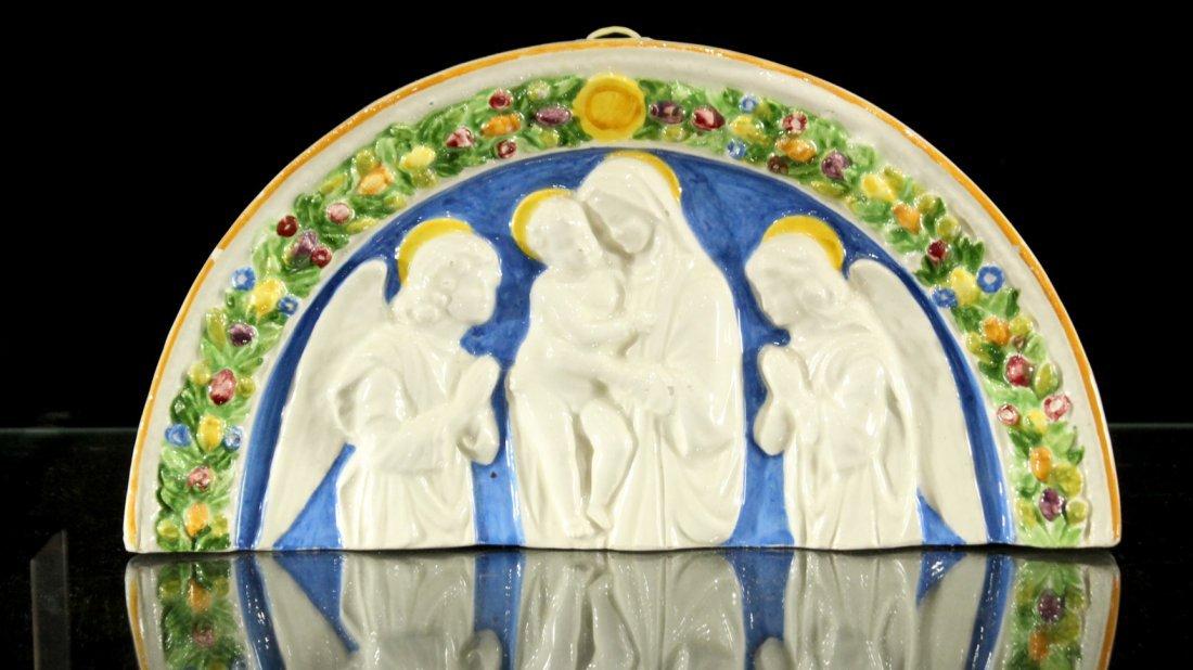 Italian ceramic of religious figures