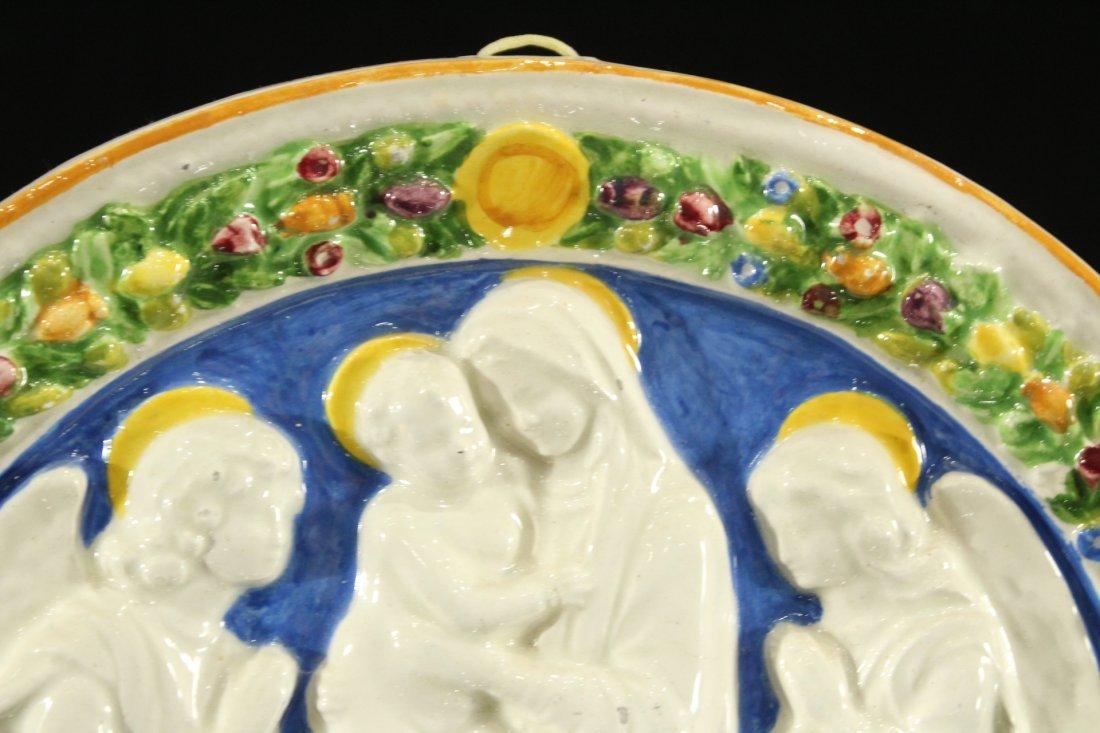 Italian ceramic of religious figures - 3