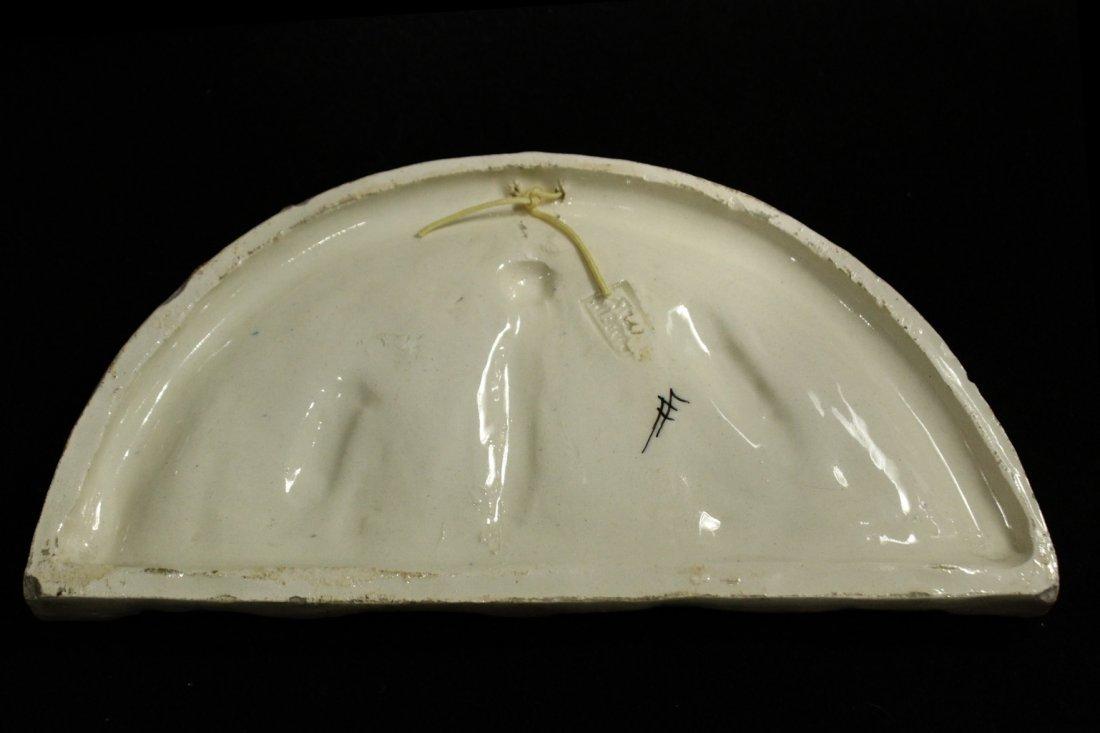 Italian ceramic of religious figures - 5