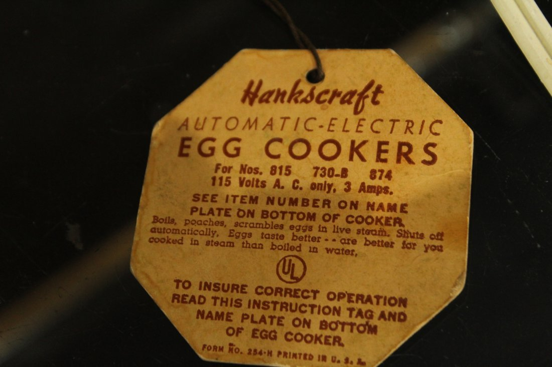 Mid-century modern Egg Cookers Hankscraft - 5