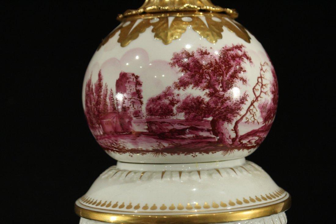 Italian Magmi Porcellane Porcelain Lamp base - 2
