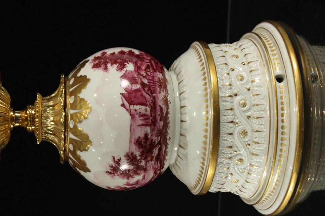 Italian Magmi Porcellane Porcelain Lamp base - 3