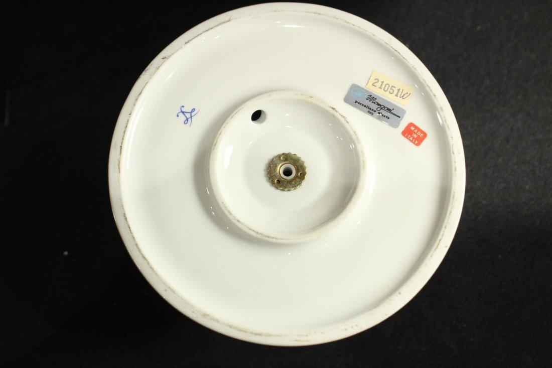 Italian Magmi Porcellane Porcelain Lamp base - 4