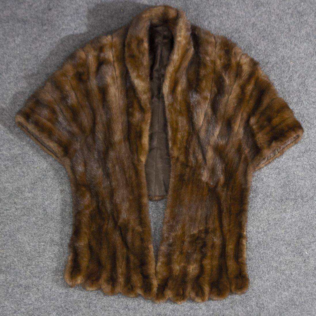 Fur coat, jacket or shrug