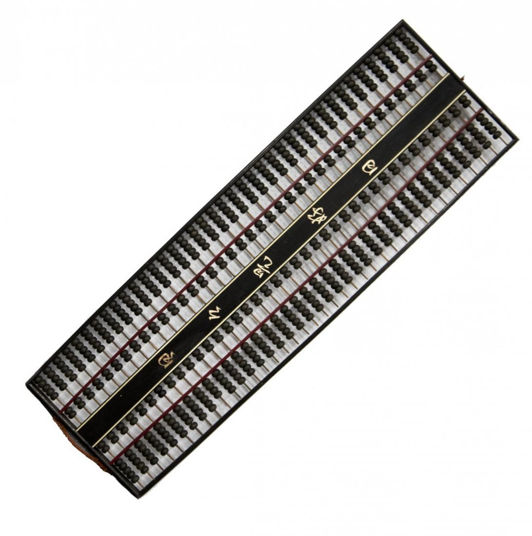 Large Chinese Abacus With Chinese Writing