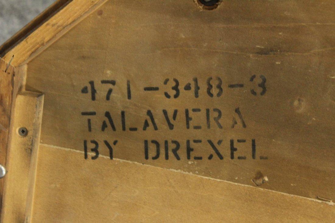 Drexel Mid-century hollywood regency stone top table - 5