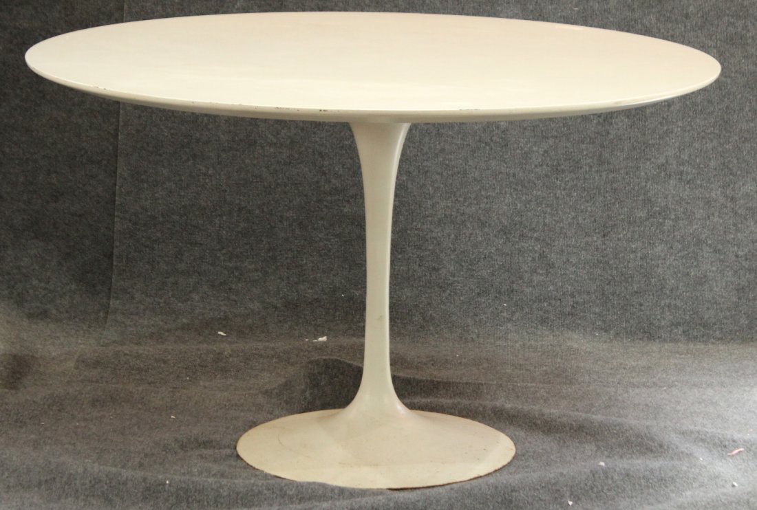 KNOLL INDUSTRIES For SAARINEN ROUND TULIP DINETTE TABLE