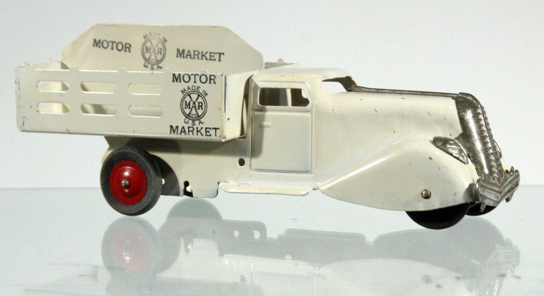 Antique PRESSED STEEL TRUCK - MARX MOTOR MARKET