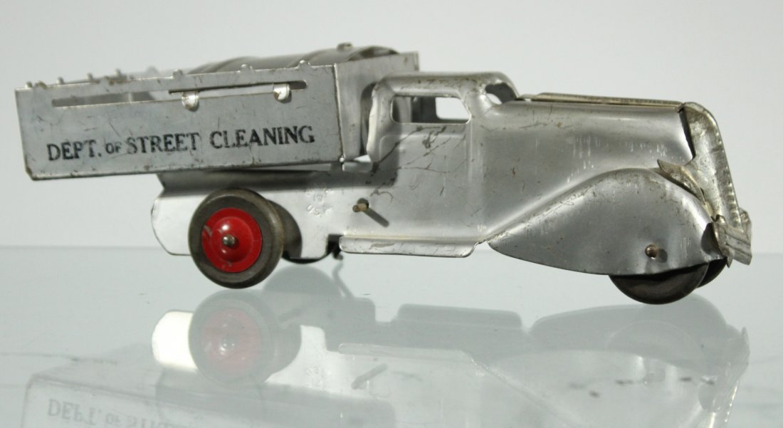 Antique PRESSED STEEL TRUCK - DEPT OF STREET CLEANING