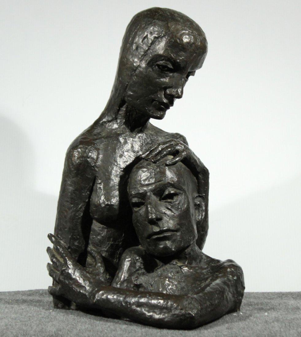 FABULOUS MODERNISM BRONZE  - MODERN ART FOUNDRY NY