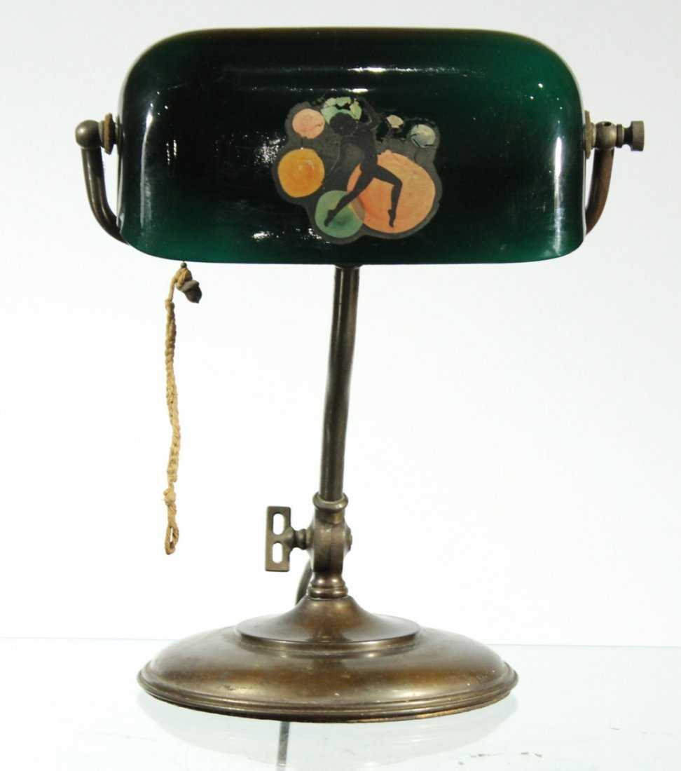Circa 1930s Original EMERALITE Double Adjustable LAMP