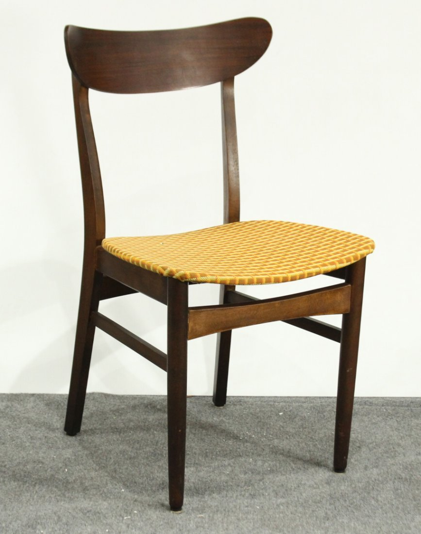 MID CENTURY MODERN DANISH TEAK SIDE CHAIR
