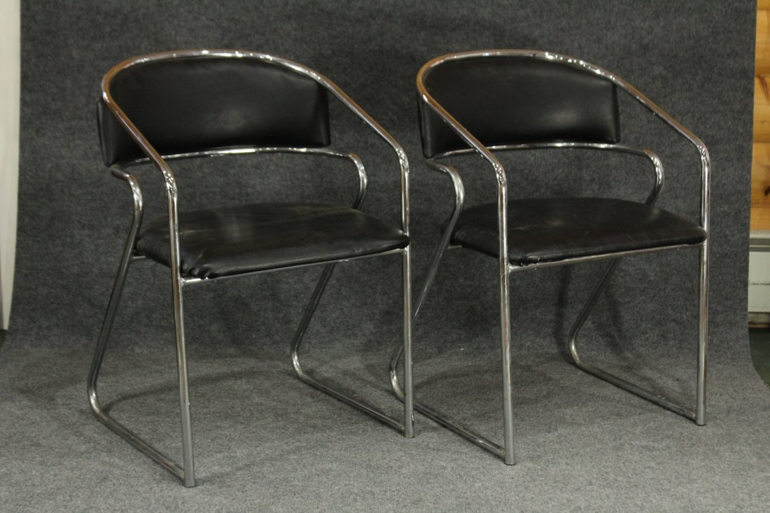 Mid-Century Mod MARCEL BREUER style CHAIRS
