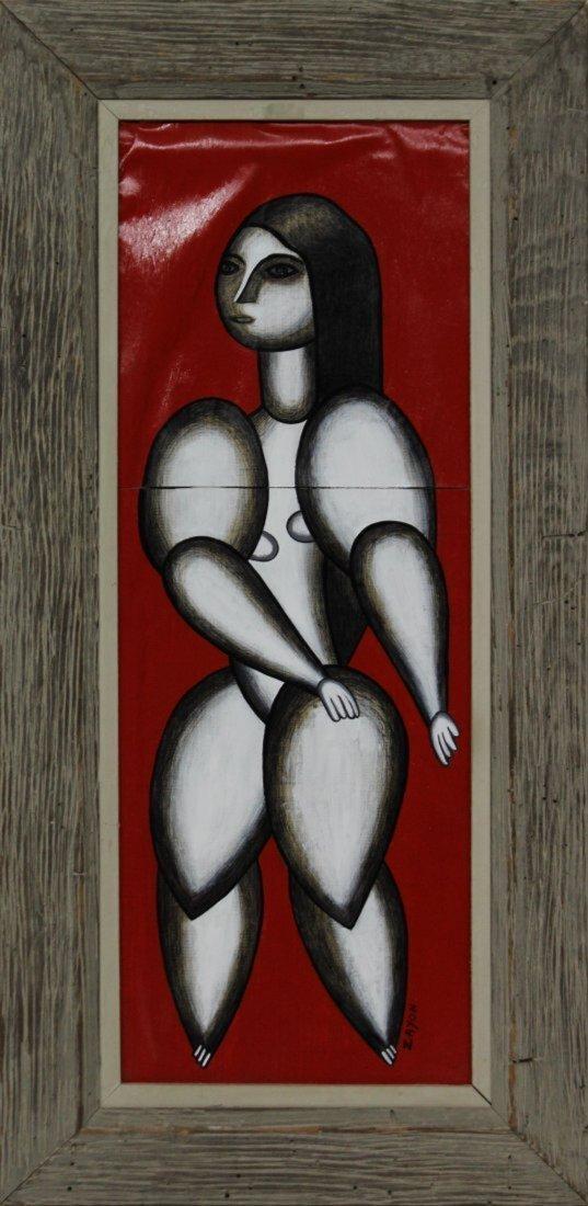 SEYMOUR ZAYON Mid Century Modern STANDING WOMAN