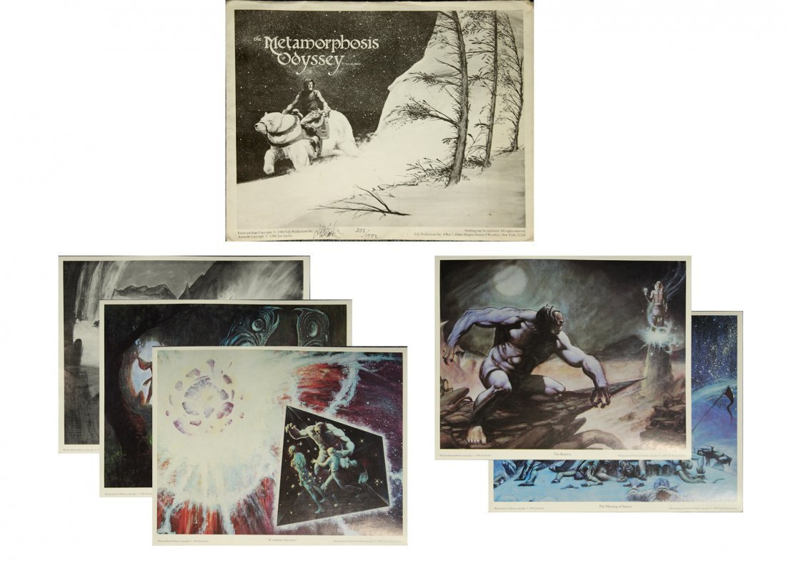 6 Assorted METAMORPHOSIS ODYSSEY Lithographs #258/1000