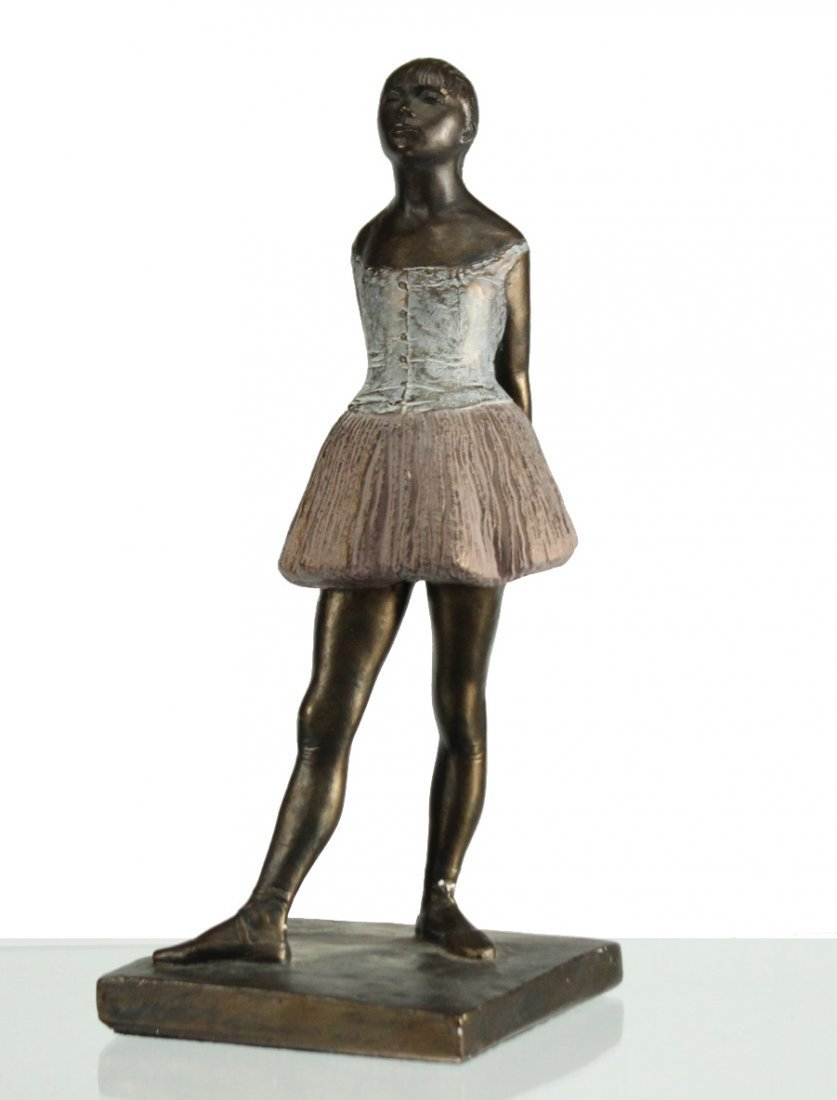 After DEGAS, Young Girl Dancer Composition Figure