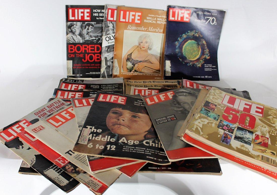 Vintage LIFE MAGAZINES 26 Plus Extras