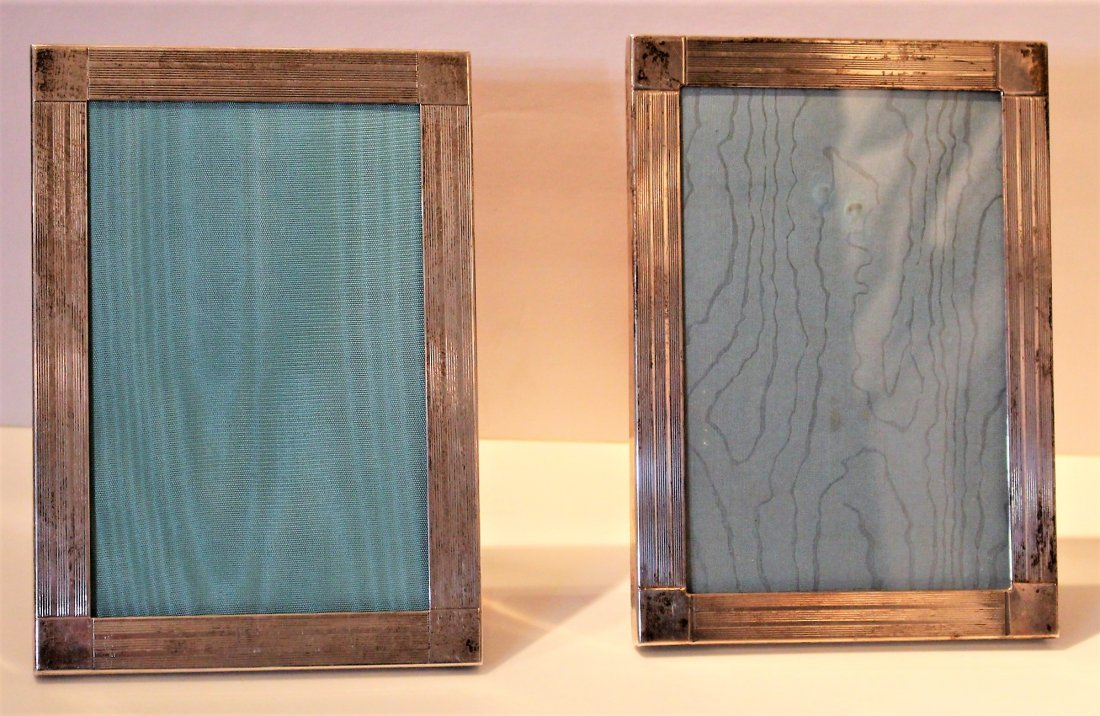 Pair TIFFANY AND CO. Sterling .925 PICTURE FRAMES