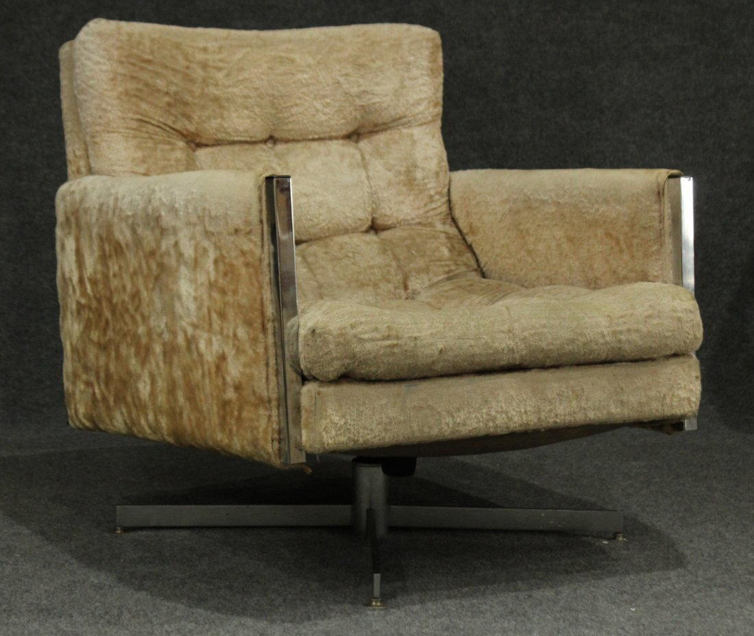 MILO BAUGHMAN Style swivel side chair